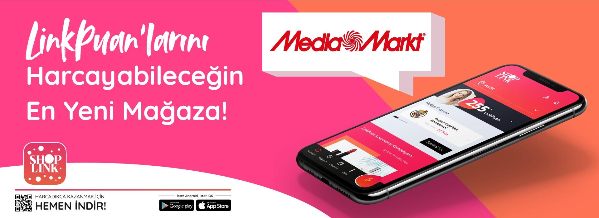 Linkpuanlarını Harcayabileceğin En Yeni Mağaza Media Markt