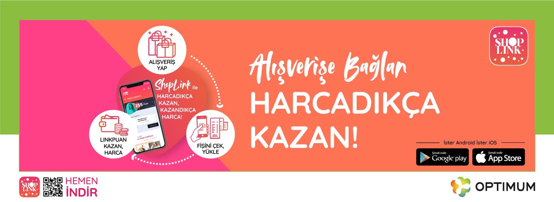 Alışverişe Bağlan Harcadıkça Kazan!