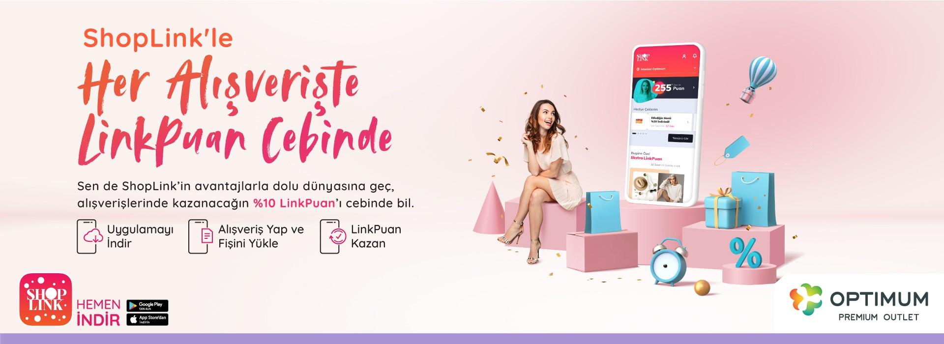 Shoplink'le Her Alışverişte Linkpun Cebinde
