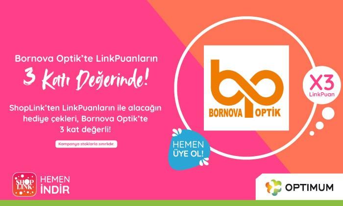 Bornova Optik'te Linkpuanların 3 Katı Değerinde!