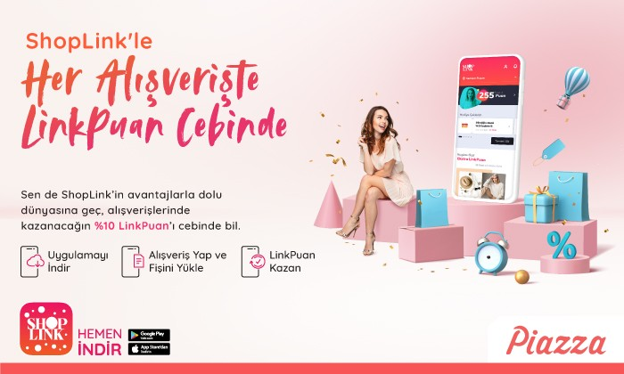 ShopLink'le Her Alışverişte Linkpuan Cebinde